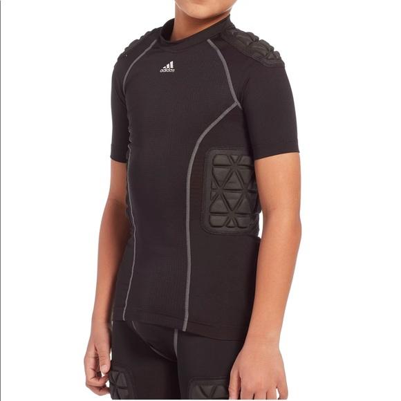 Adidas Youth Techfit Padded Football Shirt
